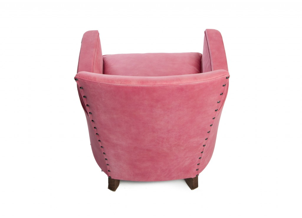 Fauteuil Club 1930 Rose